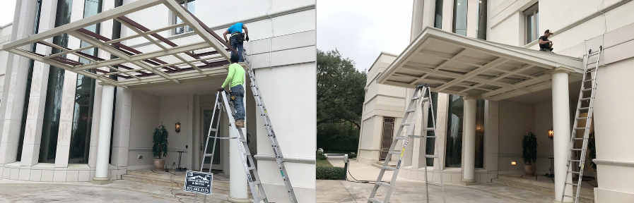 Commercial Roof Installation in the Greater Houston, Texas Area