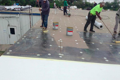 Flat Commercial Roofing in the Greater Houston, Texas Area